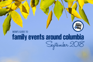 A Mom's Guide to September Family Events in Columbia - Columbia SC Moms Blog