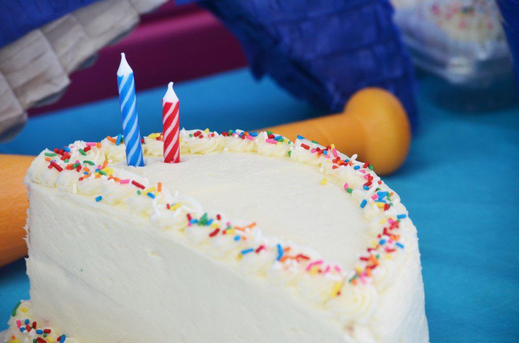 The Elusive Half Birthday Party