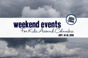 Weekend Events for Kids - September 14-16, 2018 - Columbia SC Moms Blog