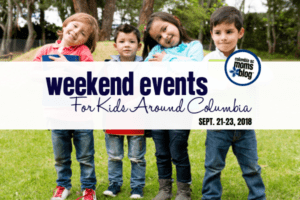 Weekend Events for Kids - September 21-23, 2018 - Columbia SC Moms Blog