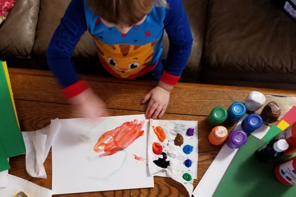 Simple Holiday Crafts for Toddlers | Columbia SC Moms Blog
