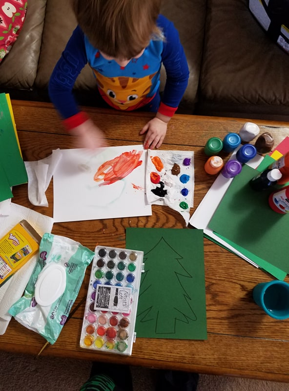 crafting-toddlers-art projects-holiday craft
