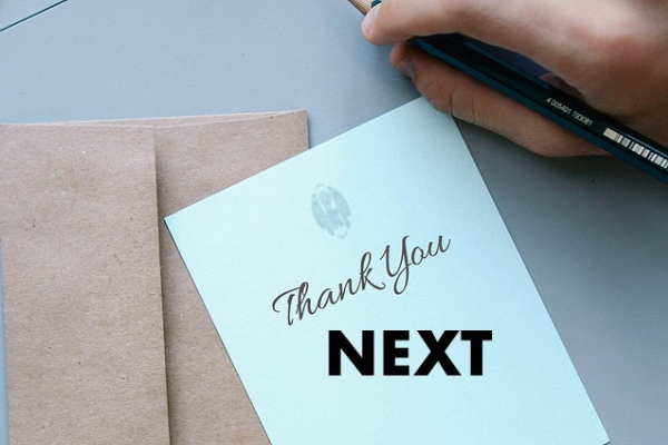 Thank You Next - Columbia SC Moms Blog