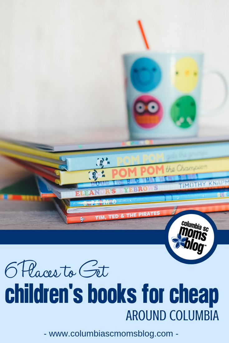 6 Places to Get Children's Books for Cheap