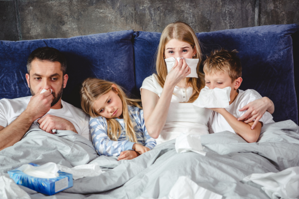 What to Do When the Whole Family Gets Sick | Columbia SC Moms Blog