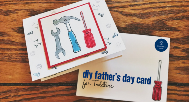 DIY Father's Day Card for Toddlers