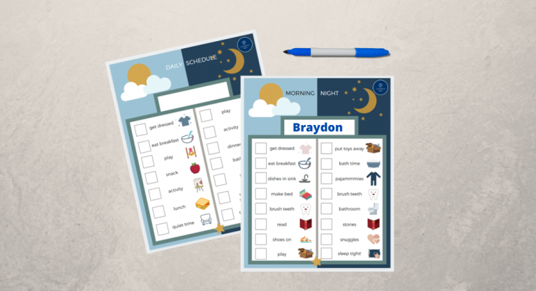 FREE Routine + Activity Charts for Your Family