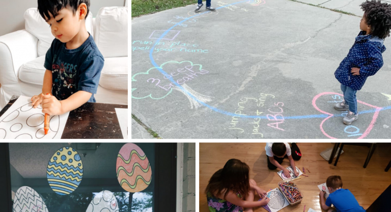 4 Neighborhood Activities (Social Distancing Style) to Organize in April