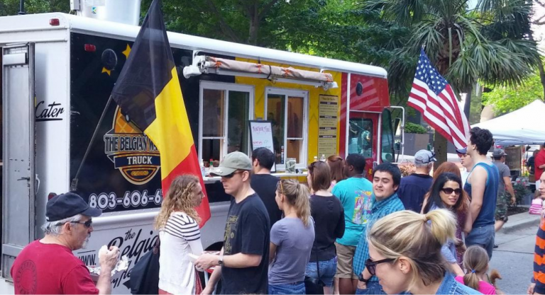 Columbia Mom EATS :: The Belgian Waffle Truck