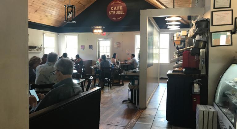 Columbia Mom EATS :: Cafe Strudel